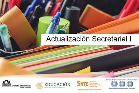 Actualización Secretarial I