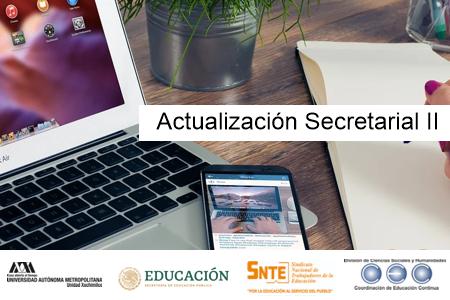 Actualización Secretarial II